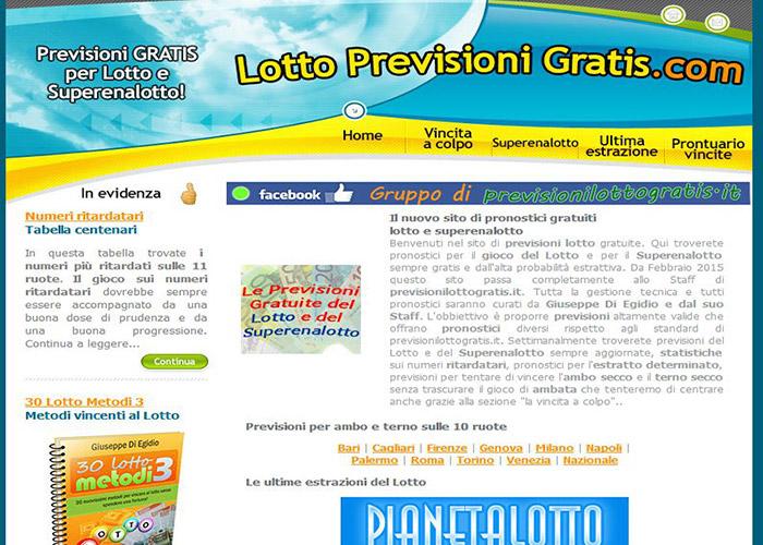 Lotto Previsioni Gratuite